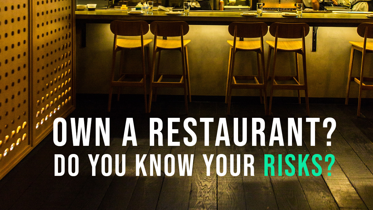 If You Own A Restaurant You Need Insurance For Fast Food